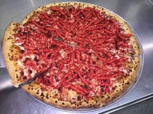 Hot Cheetos Pizza