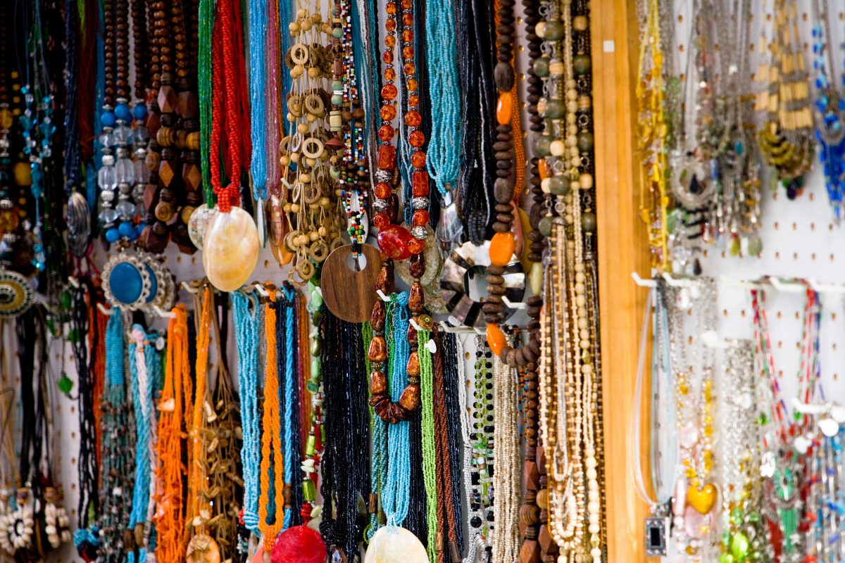 Various beaded jewelry