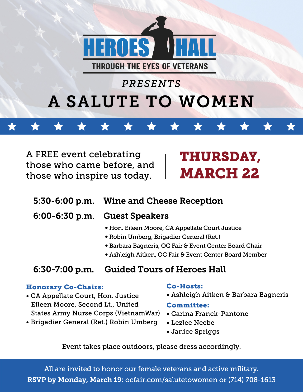 Youre invited to a special event in honor of Womens History Month